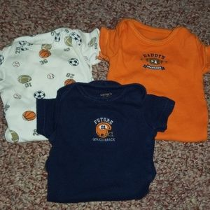 Sports onsie lot